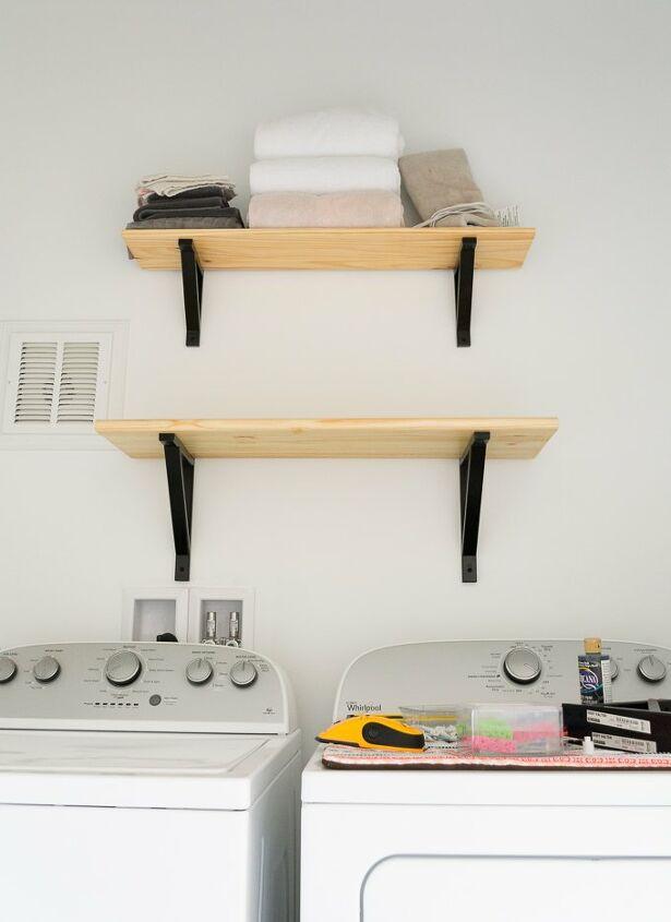 s laundry room closet, 4 Smart Laundry Room Closet Shelving Solution