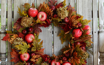 DIY Apple Spice Wreath