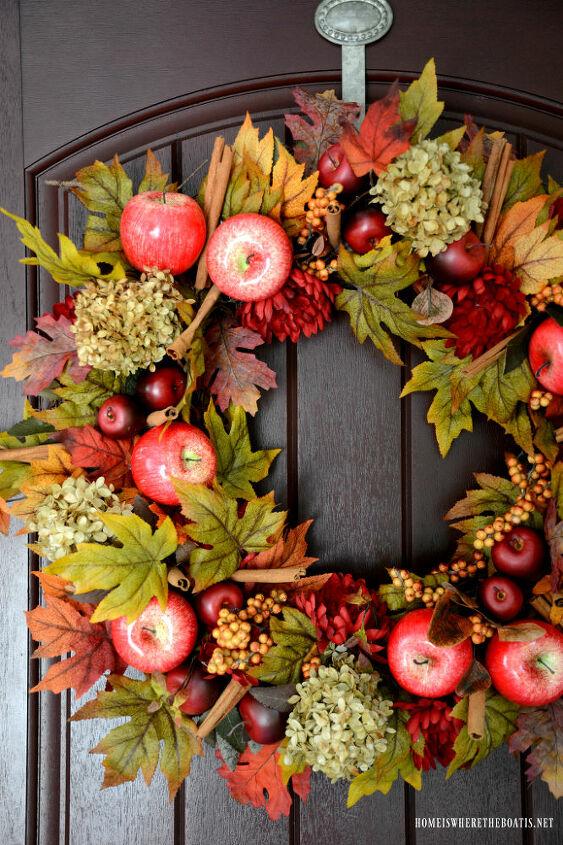 diy apple spice wreath