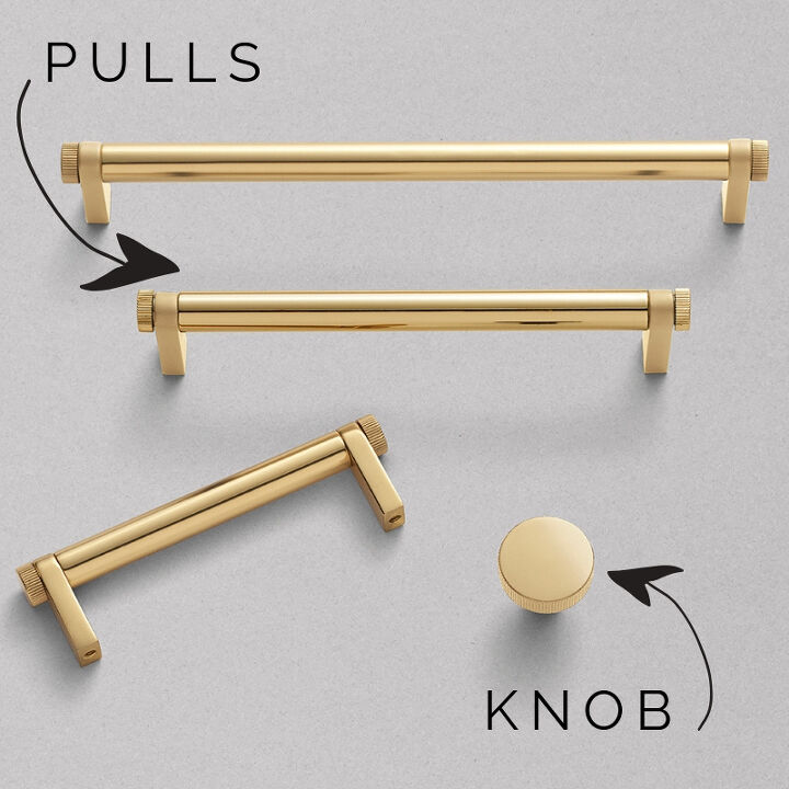 how to change a drawer pull to knob 2 holes to 1