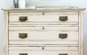 Antique Chest of Drawers Clean Up
