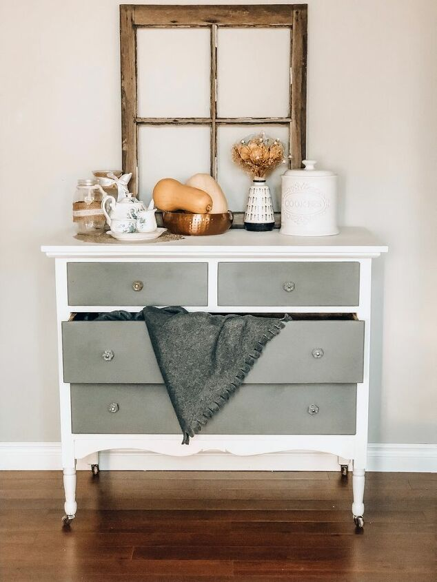 farm house dresser diy country chic chalk paint