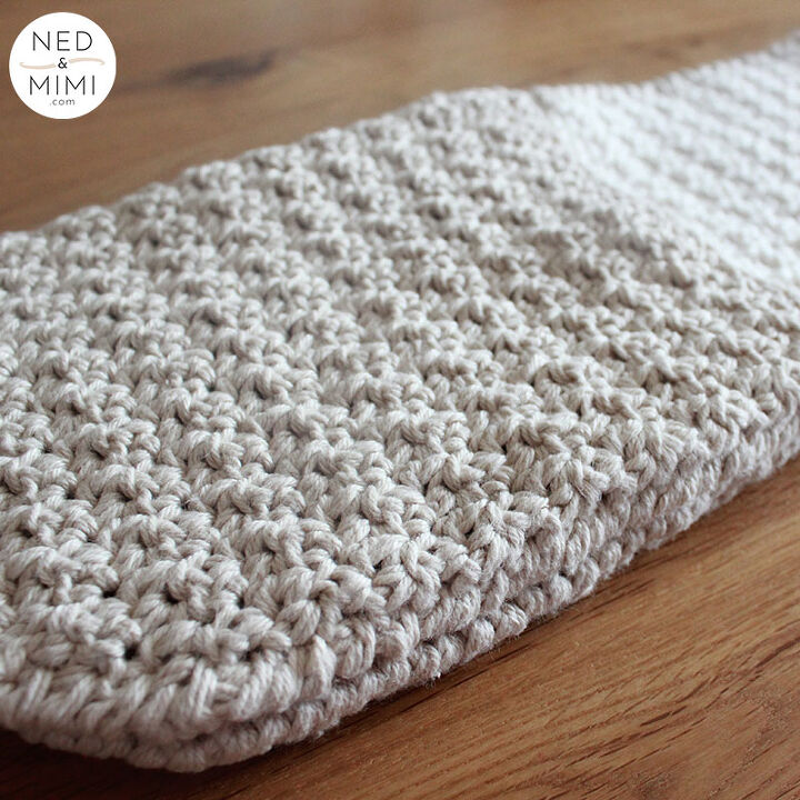 double oven mitt crochet pattern