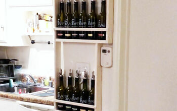 "Engineer Your ""Vertical"" Space: Tiny Kitchen DIY Shelf Storage Idea"