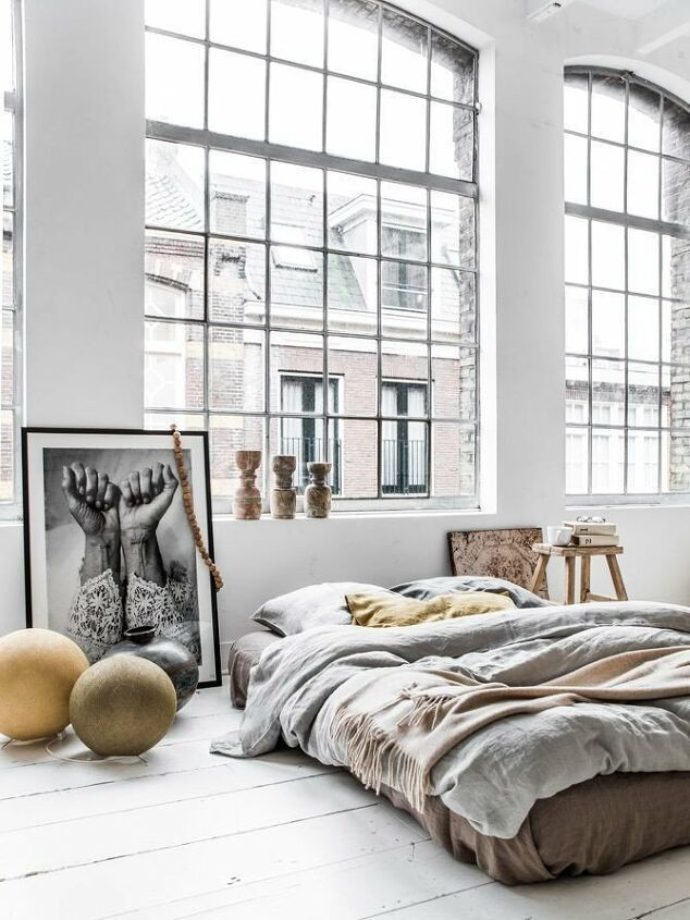 lovely ways to style your bed on the floor