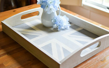 Farmhouse Tray With a Union Jack