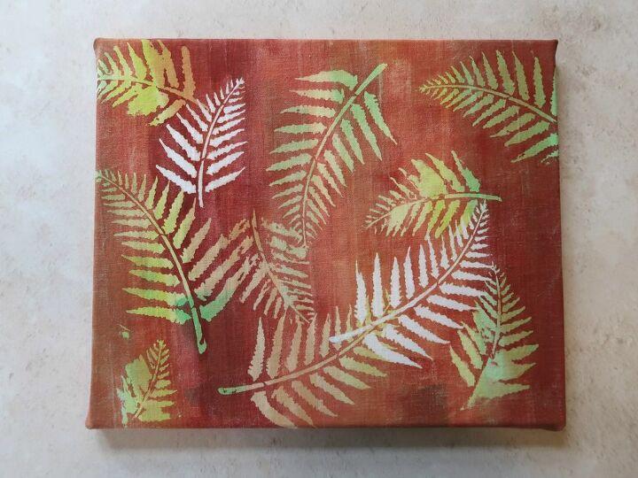 how to make batik art using a glue stick