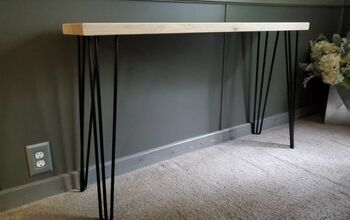 Hairpin Leg Sofa Table