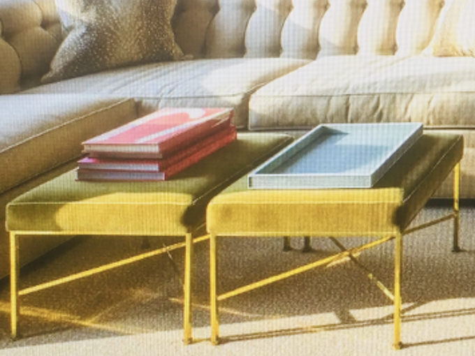 q how can i find or make these ottomans