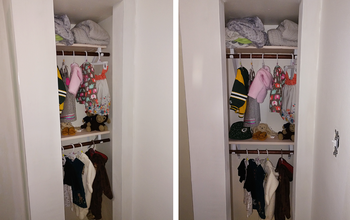 Building Shelves for a Small Nursery Closet