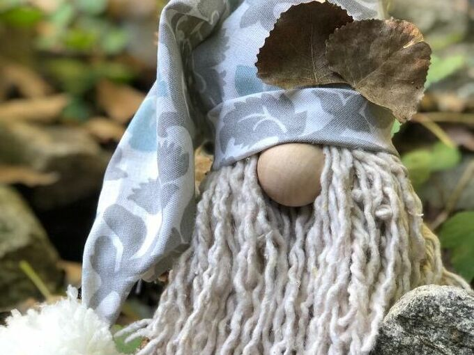 how to make the cutest gnome diy