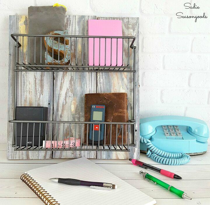 home office decor DIY storage