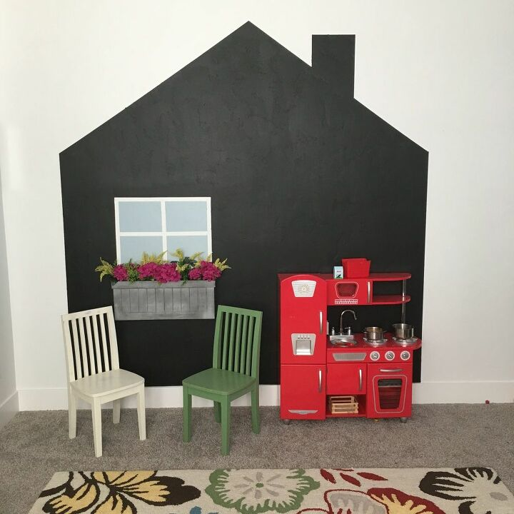 chalkboard playhouse