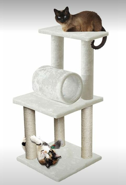 q how do i build a cat scratch post