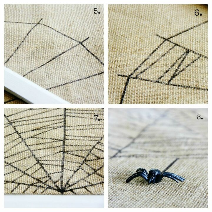 spiderweb table runner