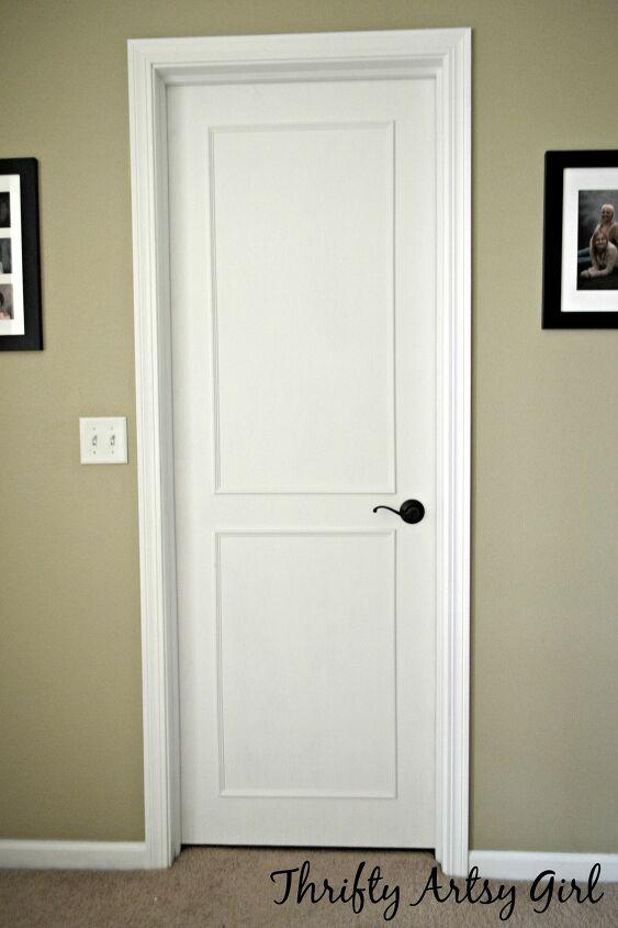 DIY Paneled Door