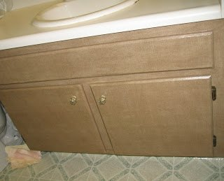 s bathroom cabinets, 3 Decoupage Inspired Bathroom Linen Cabinet