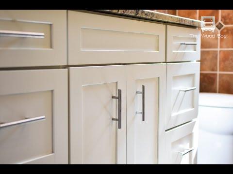 s bathroom cabinets, 5 Brighter Bathroom Cabinet Makeover