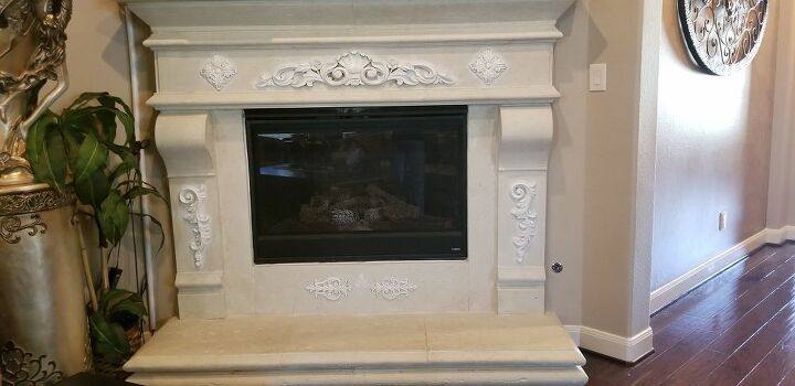 enhancing a fireplace
