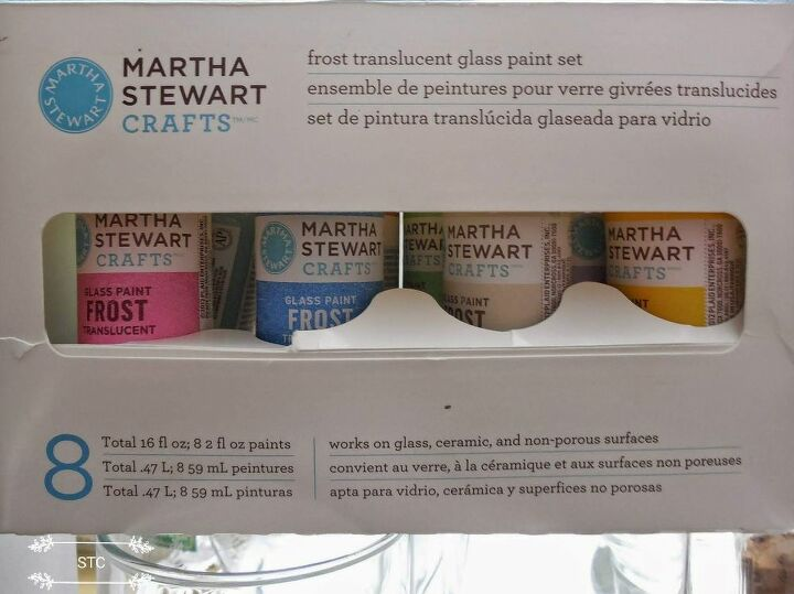Martha Stewart Frosted Glass Paints
