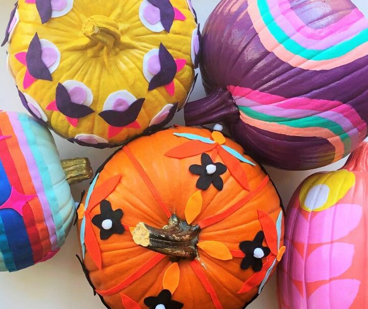 easy 70 s style pumpkins