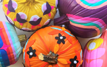 Easy 70's Style Pumpkins