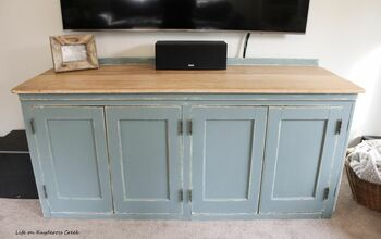 Farmhouse Style TV Stand Makeover