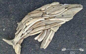 Creating a Humpback Whale With Driftwood