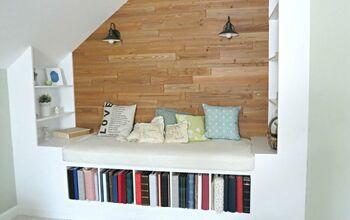 A DIY Cozy Reading Nook in the Master Bedroom
