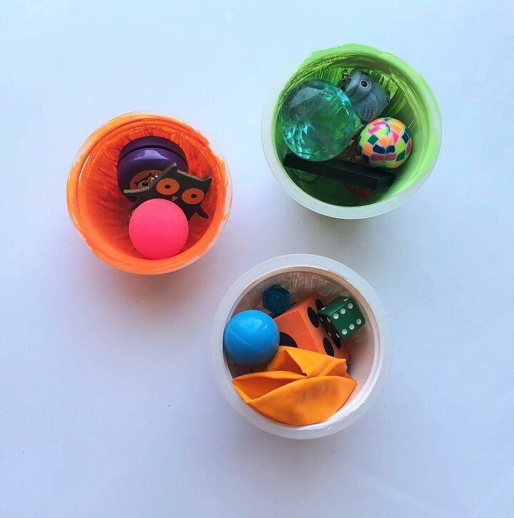 plastic cup halloween favors