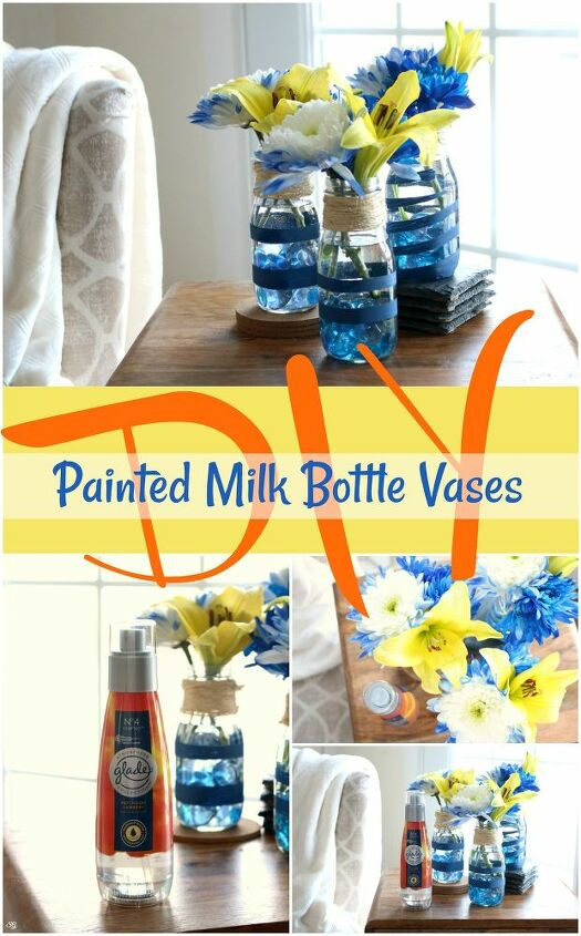 diy flower bottles