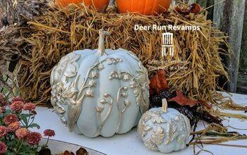 How To Make Elegant Foam Pumpkins Using Silicone Molds