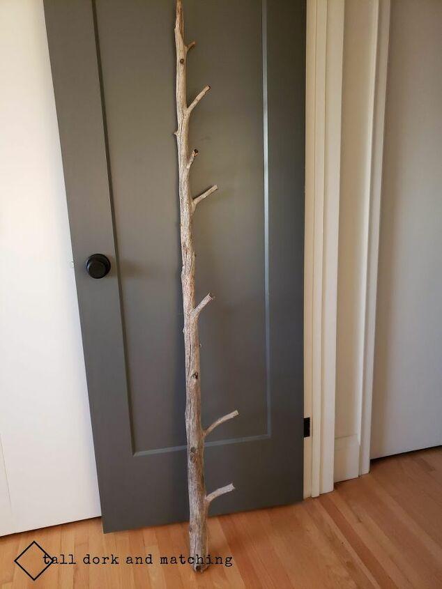 tree branch bedroom lighting