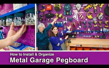 How to Install and Organize Garage Pegboard