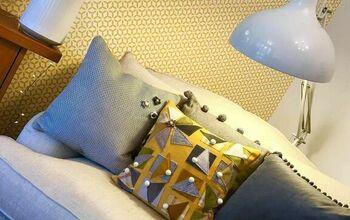 Fabric Sample Throw Pillow!