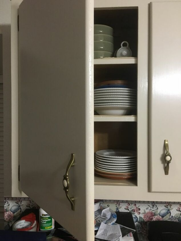 q turn my rounded edge flat cabinet into shaker