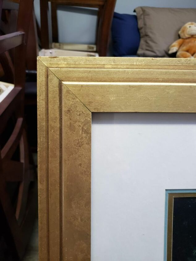 q how can i upcycle a beautiful picture frame