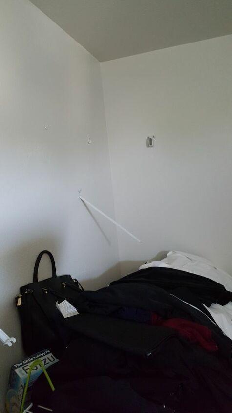 q how do i fix my collapsed closet