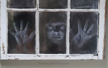 Halloween, Face in the Window DIY