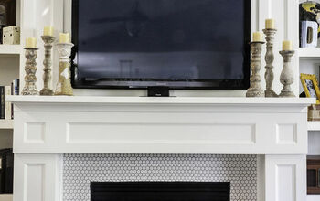 How to Build a Shaker Style Fireplace Surround & Mantle