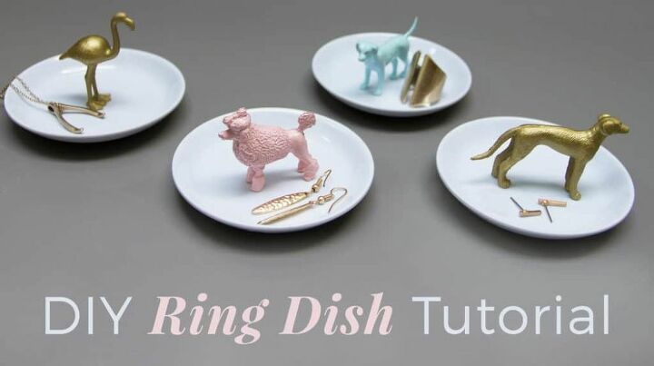 how to make a cute diy ring dish