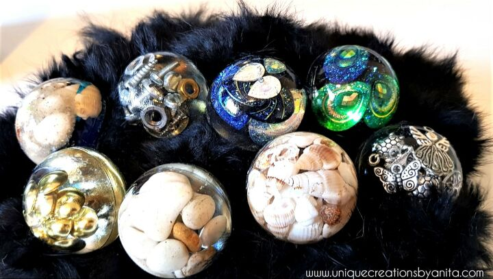 s 18 epoxy resin projects anyone can do so in right now, These resin knobs will spice up any old furniture