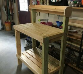 Surprising How To Paint Diy Potting Bench Based On Plans By Ana White Pabps2019 Chair Design Images Pabps2019Com