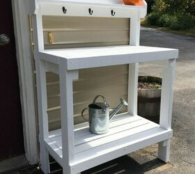 Awesome How To Paint Diy Potting Bench Based On Plans By Ana White Pabps2019 Chair Design Images Pabps2019Com