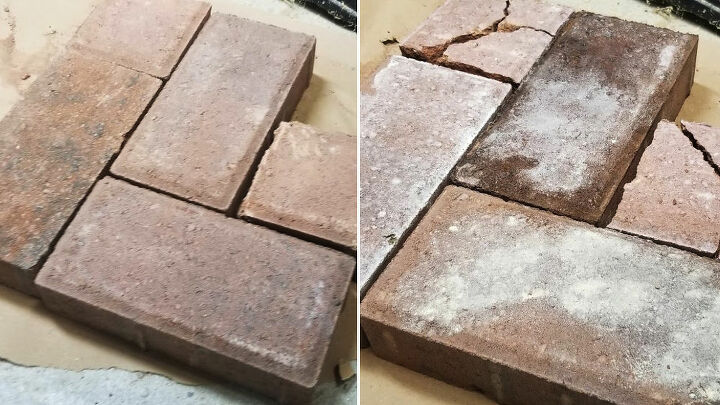 making new bricks look old with paint and stain