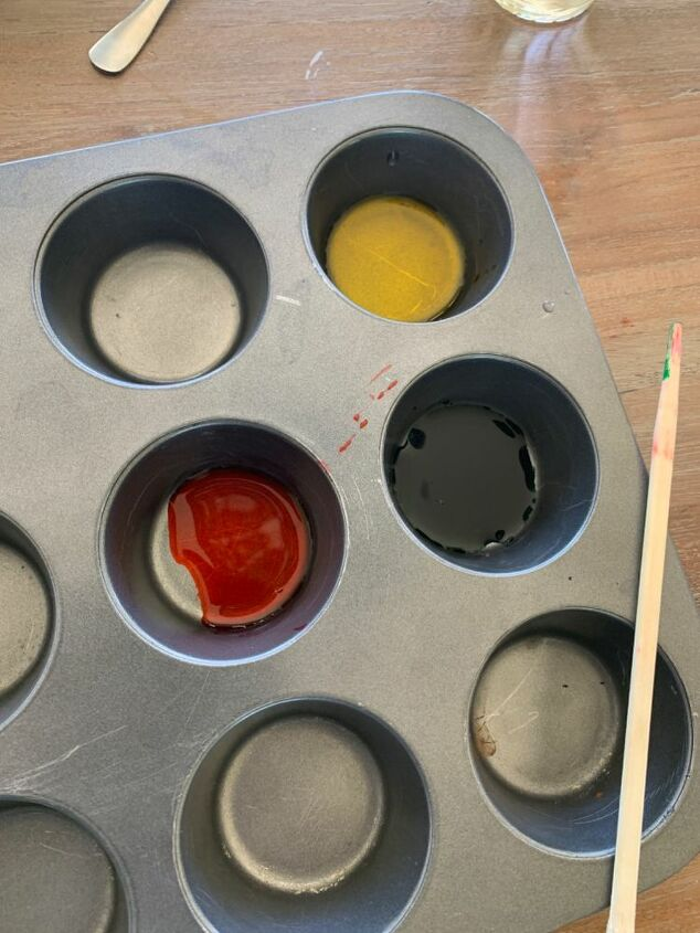 luminaries made with glue
