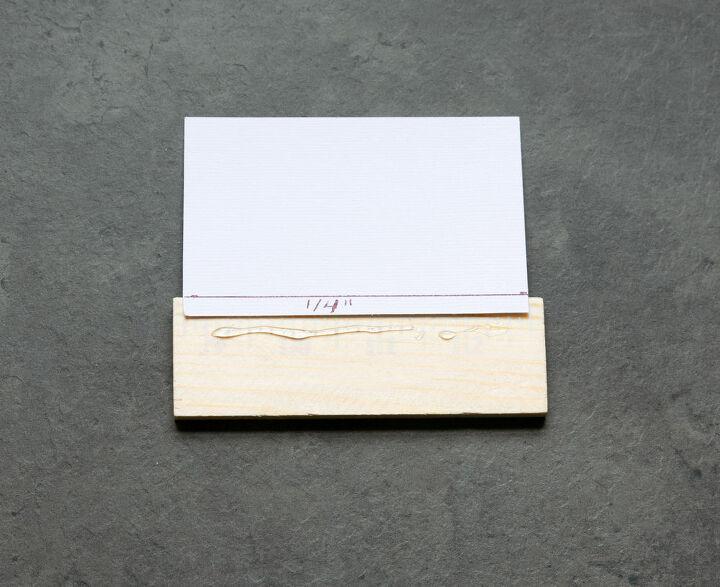 super easy diy placecard holders
