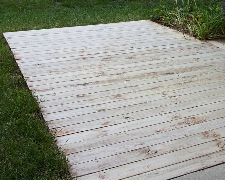 how to do a diy mini deck refresh