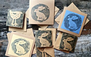 How To Make Simple Reverse Prints Using Blu Tack