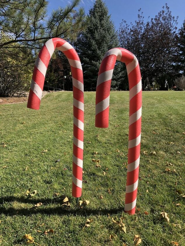 3 holiday diys from pool noodles